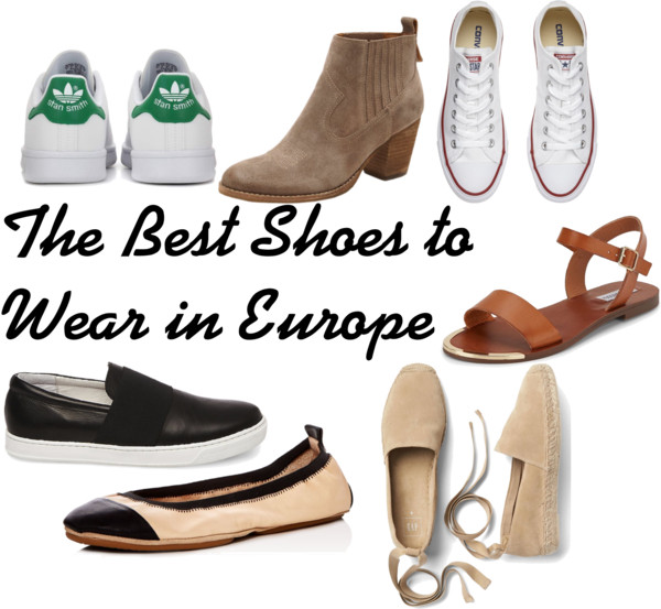 the best shoes to wear in europe hepburn and handbags